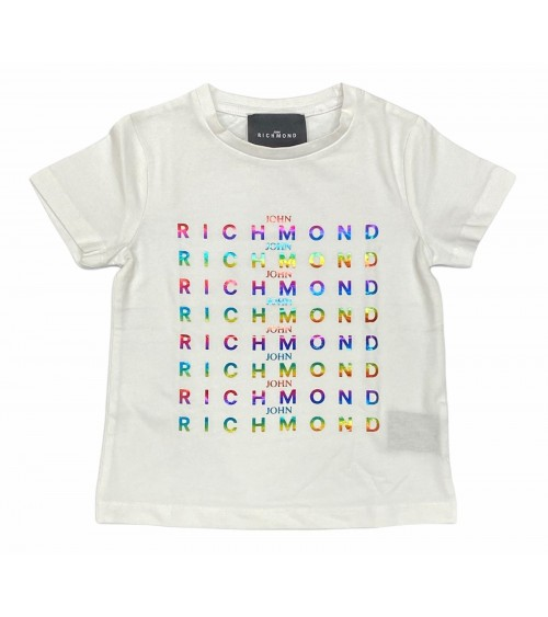 Richmond - T-shirt bianca confessont